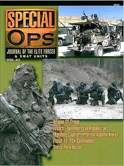 Concord Publications Journal of the Elite Forces & Swat Units Vol.42 -- Military History Book -- #5542