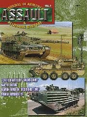 Concord Publications Assault- Journal of Armored & Heliborne Warfare Vol.7 -- Military History Book -- #7807