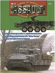Concord Publications Assault- Journal of Armored & Heliborne Warfare Vol.13 -- Military History Book -- #7813