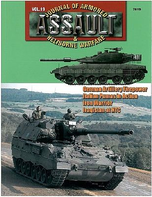 Concord Publications Assault- Journal of Armored & Heliborne Warfare Vol.19 -- Military History Book -- #7819