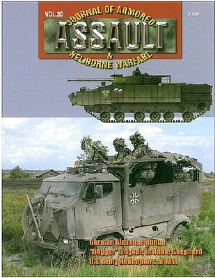 Concord Publications Assault- Journal of Armored & Heliborne Warfare Vol.20 -- Military History Book -- #7820