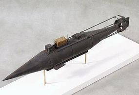 Cottage CSS Pioneer Confederate Submarine Plastic Model Submarine Kit 1/32 Scale #32004