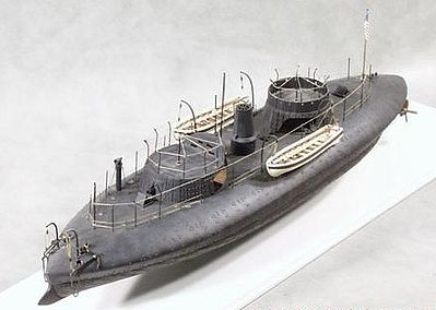 Cottage USS Keokuk Union Ironclad Warship (19-1/2L) Resin Model Military Ship Kit 1/96 #96001