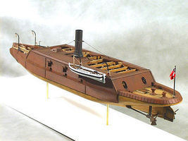 Cottage CSS Arkansas Ironclad Warship (23''L) Model Military Ship Kit 1/96 Scale #96004
