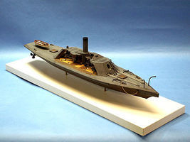 Cottage CSS Albemarle Confederate Ironclad Warship Plastic Model Military Ship Kit 1/96 #96006