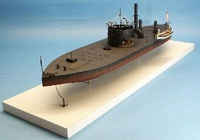 Cottage USS Monitor John Ericssion's Union Ironclad Warship Plastic Model Ship Kit 1/96 #96008