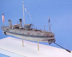 Cottage Spuyten Duyvil Union Torpedo Boat (10.5''L) Plastic Model Military Ship 1/96 Scale #96010