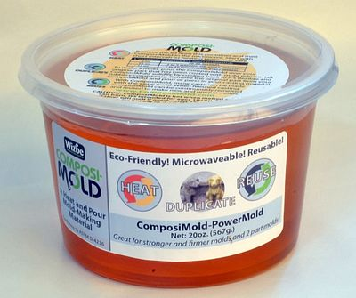 Composimold PowerMold Reusable Stiffer Mold Making Material (20oz)