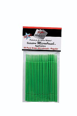 Creations Unlimited Microbrush Reg Grn 25/ (25)