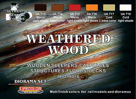 Creations Weathered Wood Paint Set