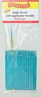 Creations Magic Brush Bulk Pack Teal Large, 100-Pack