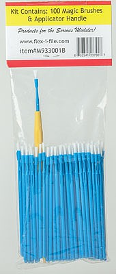 Creations Magic Brush Bulk Pack Blue Brush