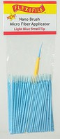 Creations Nano Brush Bulk Pack Light Blue Short Tip