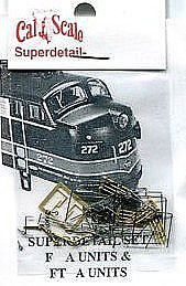 Cal-Scale F/FT Grab Iron Kit A-Unit - HO-Scale