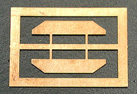 Cal-Scale Diesel Sun Shades Brass - HO-Scale