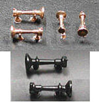 Cal-Scale Air Horn Leslie A-200 2/ - HO-Scale (2)