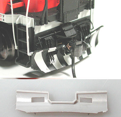 Cal Scale Train Parts Ho CN SNOW PLOW PLASTIC