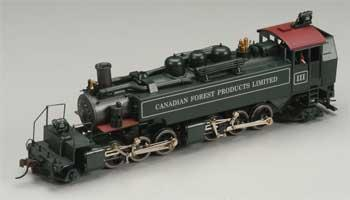 Mantua by Model Power 2-6-6-2 T Articulated Logger Canadian -- HO Scale Model Train Steam Locomotive -- #351601
