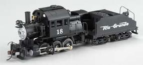 Mantua 0-6-0 Goat Switcher w/Tender Rio Grande HO