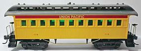 Mantua 1890s Era Wood Coach Union Pacific Ready to Run HO Scale Passenger Car #715100