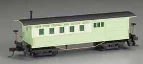 Mantua 1860s-Era Wooden Combine New York Central & Hudson River HO Scale Model Train #717110