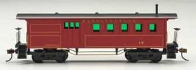 Mantua 1860 Wooden-Type Combine Pennsylvania HO Scale Model Train Passenger Car #718520