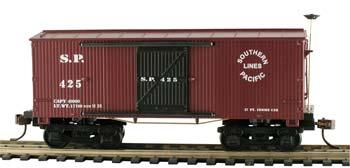 Mantua by Model Power 1860 Box Car Wooden Vintage Freight Cars SP HO