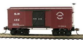Mantua 1860 Box Car Wooden Vintage Freight Cars SP HO