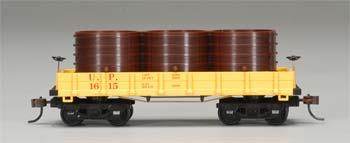 Mantua by Model Power 1860 Water Car Wooden Vintage Freight Car UP HO