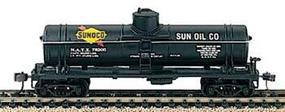 40' Single Dome Tank Car Sunoco HO Scale Model Train Freight Car #732184