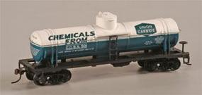 Mantua 40 Single Dome Tank Car Union Carbide HO Scale Model Train Freight Car #732307