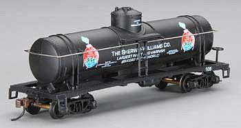 Mantua by Model Power 40' Single Dome Tank Car Sherwin-Williams -- HO Scale Model Train Freight Car -- #732308