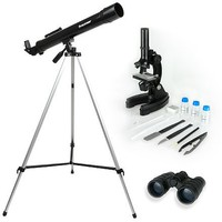 Celestron Telescope, Microscope & Binocular Science Kit