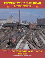 CTC PRR Lines West Vol 1 Model Railroading Historical Book #19