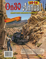CTC 2014 On30 Annual Model Railroading Book #393