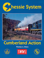 CTC Chessie System Cumberland Action Model Railroading Book #43