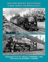 CTC NYC Steam Power in NJ & PA Model Railroading Book #56