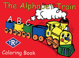 CTC Alphabet Train Color Book Model Railroad Book #71