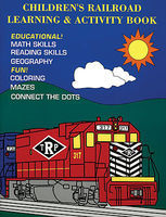 CTC Childrens Railroad and Learning Activity Model Railroad Book #72