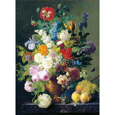 Creative Toy Company Van Dael Bowl of Flowers 1000pcs -- Puzzle 600-1000 Piece -- #31415