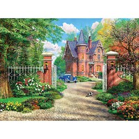 Creative The Red Brick Cottage 500pcs
