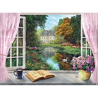 Creative Tea Time- View on the Garden 500pcs