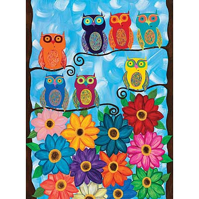 Creative Toy Company Cute Little Owls 500pcs -- Puzzle 0-500 Piece -- #35024