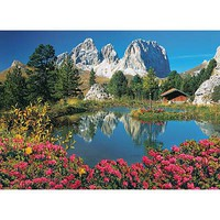 Creative Passo Pordoi with a View to Sassolungo 1000pcs Puzzle 600-1000 Piece #39273