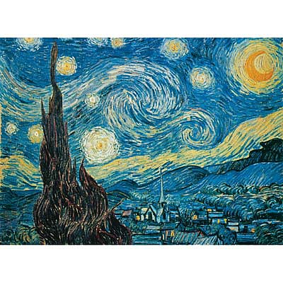 Creative Toy Company Van Gogh Starry Night 500pcs -- Puzzle 0-500 Piece -- #94932