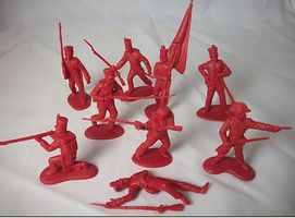 Toy-Soldiers 1/32 Alamo Mexican Infantry Set #1 (12)