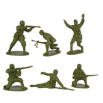 WWII Romanian Infantry (12) Plastic Model Military Figure 1/32 Scale #136 by Toy-Soldiers (136)