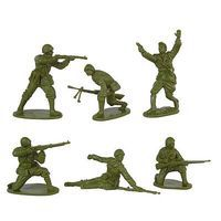 Toy-Soldiers WWII Romanian Infantry (12) Plastic Model Military Figure 1/32 Scale #136