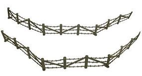 Toy-Soldiers Barbed Wire & Concertina Wire Sections (8ea.) Plastic Model Military Diorama 1/32 #708