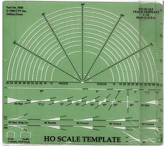 Ctt Template & Layout Design Paper Kit - HO-Scale